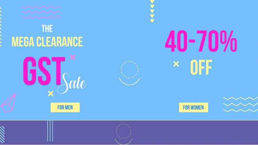 Last day for pre-GST sale; here are the discounts on Myntra, Flipkart, Amazon, Snapdeal