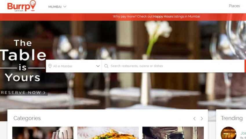 BookMyShow acquires restaurant recommendation engine Burrp