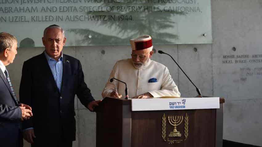 In Pictures: PM Narendra Modi meets Israel's Benjamin Netanyahu