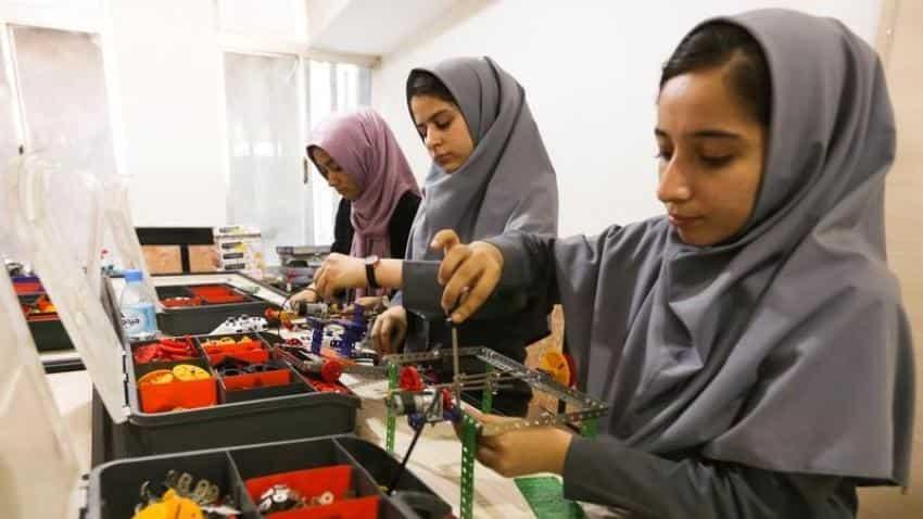 Denied US visas, all-girl Afghan robotics team to watch their creation compete via Skype