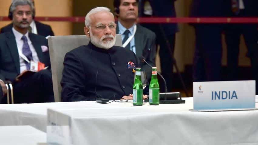 Modi holds bilaterals with Abe, Trudeau on sidelines of G20