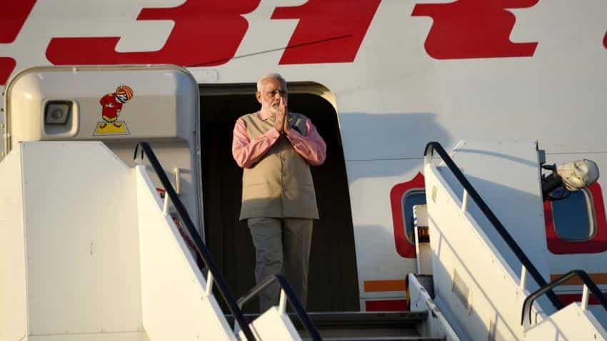 Modi returns from two-nation visit