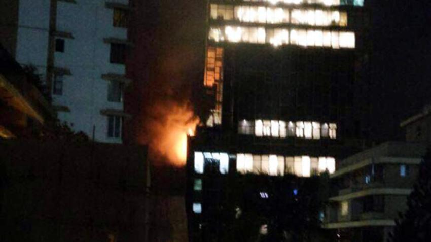 Fire breaks out at Mukesh Ambani's Antilia building