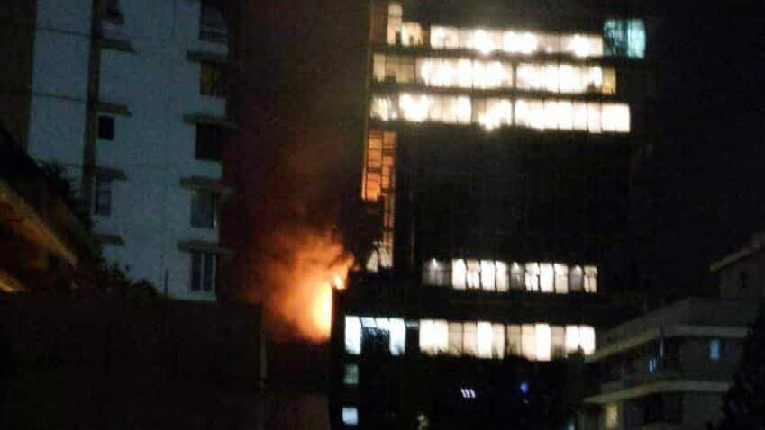 In pictures: Fire breaks out at Mukesh Ambani's residence Antilia in Mumbai