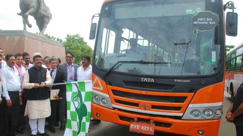 Tata Motors announces launch of Bio-Methane bus