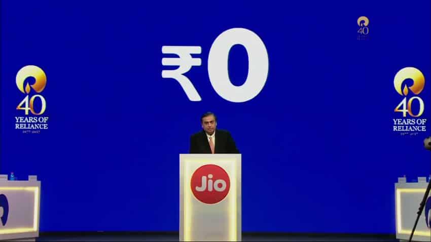 Reliance AGM: Mukesh Ambani launches 'free' 4G Jiophone, says broadband is next