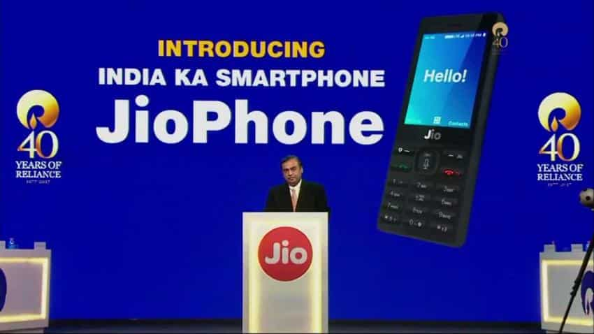 Reliance's Rs 0 JioPhone drags Bharti Airtel, Ideal Cellular shares in red