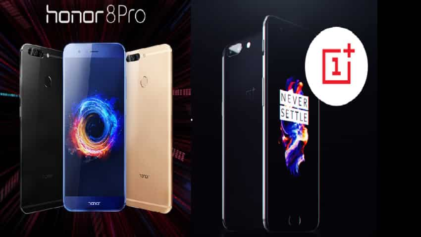 Honor 8 Pro outshines OnePlus 5 in every department