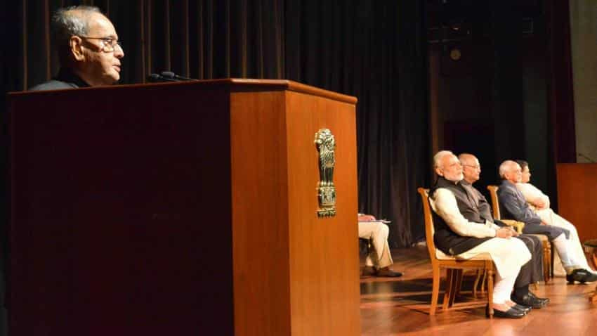 Free public discourse from violence: Mukherjee in last address to nation as president