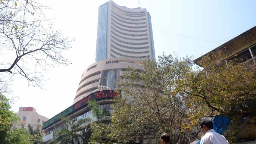 Sensex, Nifty touch new peaks; IndiGo at 19-month high on Q1