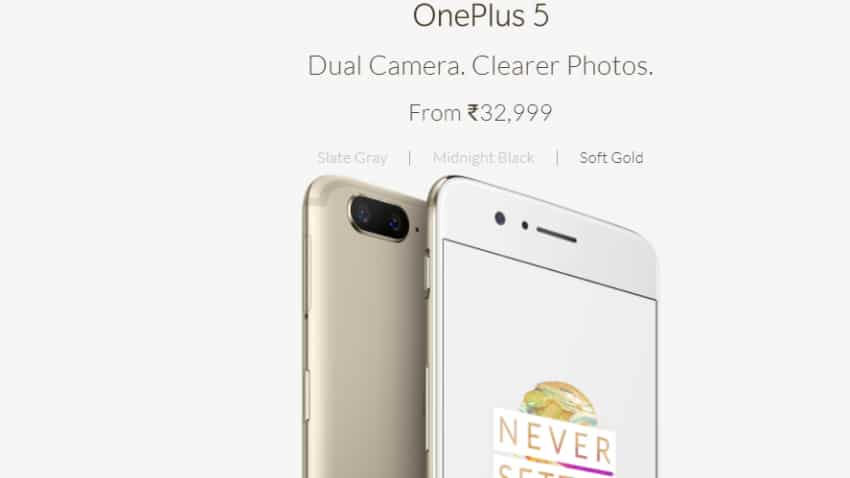 OnePlus 5 launched in limited edition new Soft Gold colour in India; Amazon exchange of up to Rs 19,470!