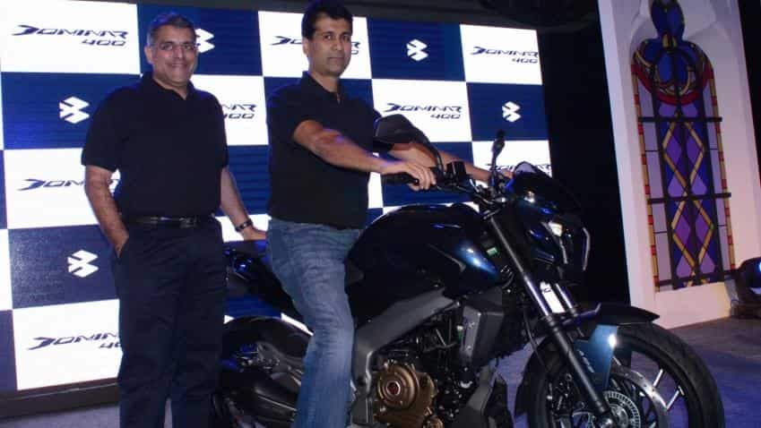 Bajaj Auto shares rise nearly 3% on partnership with Triumph Motorcycles