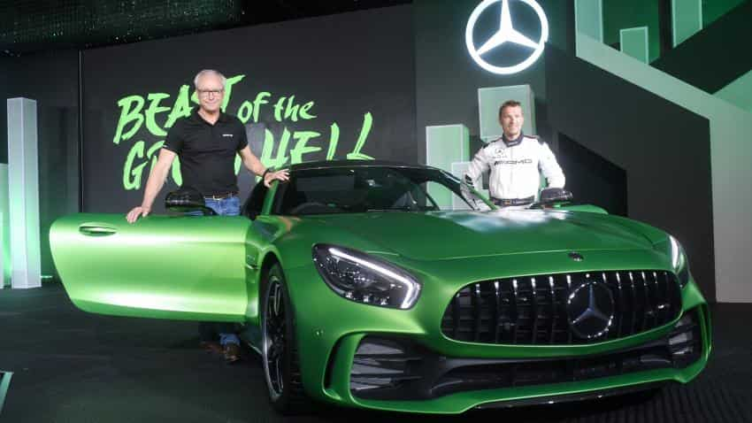 Mercedes-Benz launches AMG GT-R, AMG GT Roadster in India price starting at Rs 2.19 crore