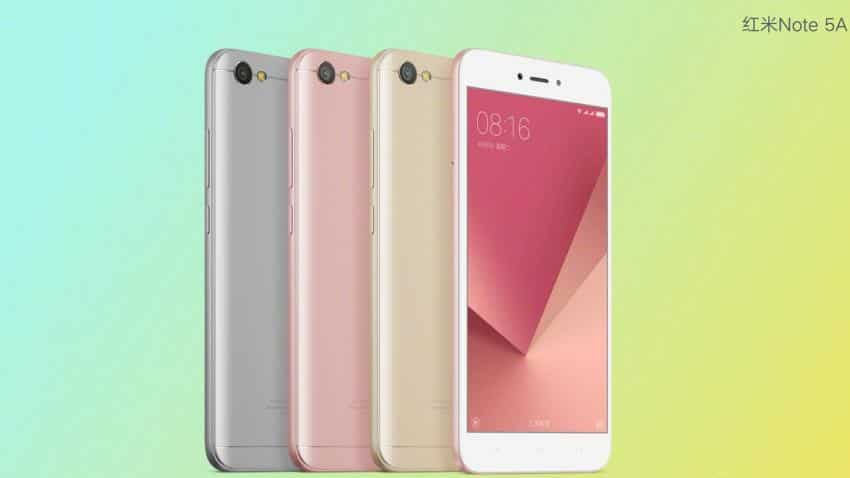 Xiaomi launches Redmi Note 5A today; here are the specifications, price