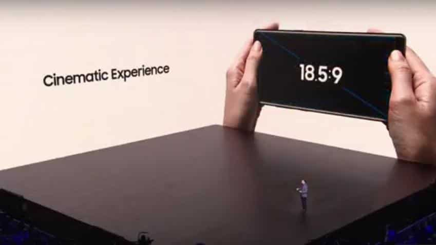 Samsung launches Galaxy Note 8; watch the live steaming here