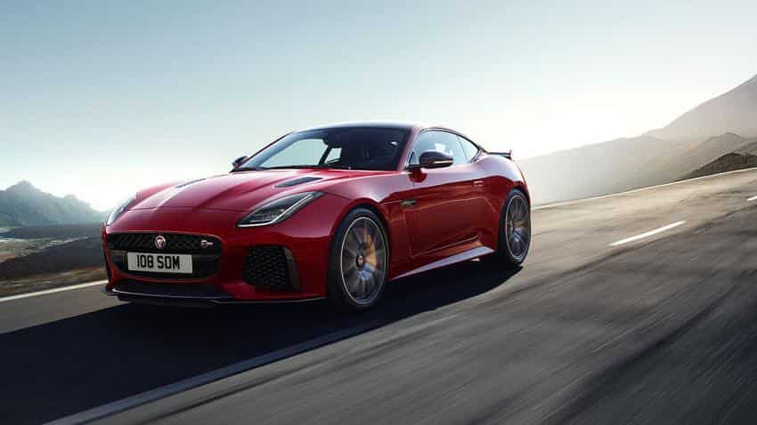 Jaguar launches F-Type SVR Coupe, Convertible models in India price starting at Rs 2.45 crore