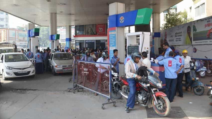 Petrol cost highest in three years; diesel hiked by Rs 3.67 since July