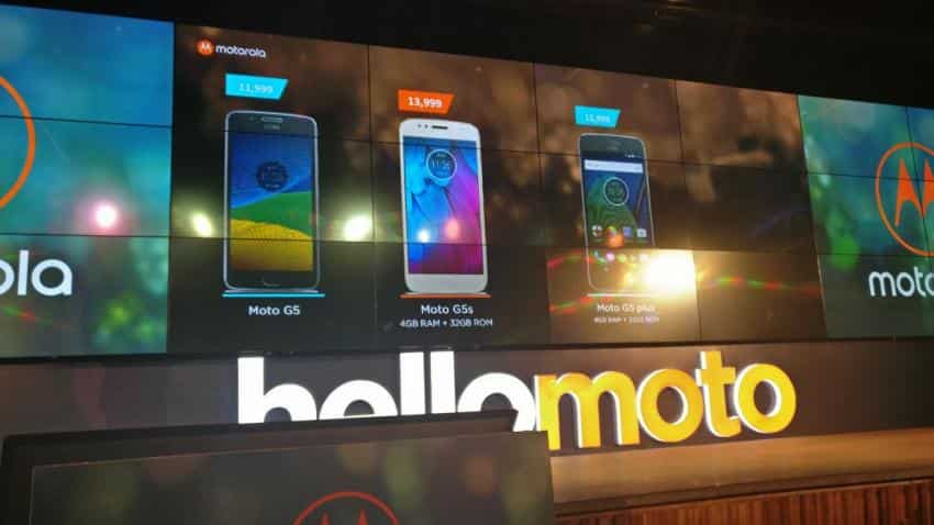 Motorola launches Moto G5S, Moto G5S Plus launches in India price starting at Rs 13,999