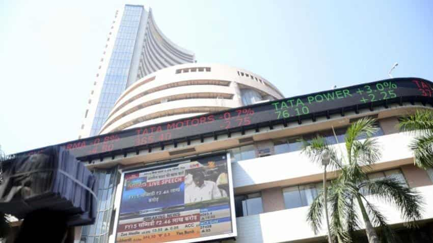 Sensex Nifty trades in red ahead of GDP numbers; NTPC top loser