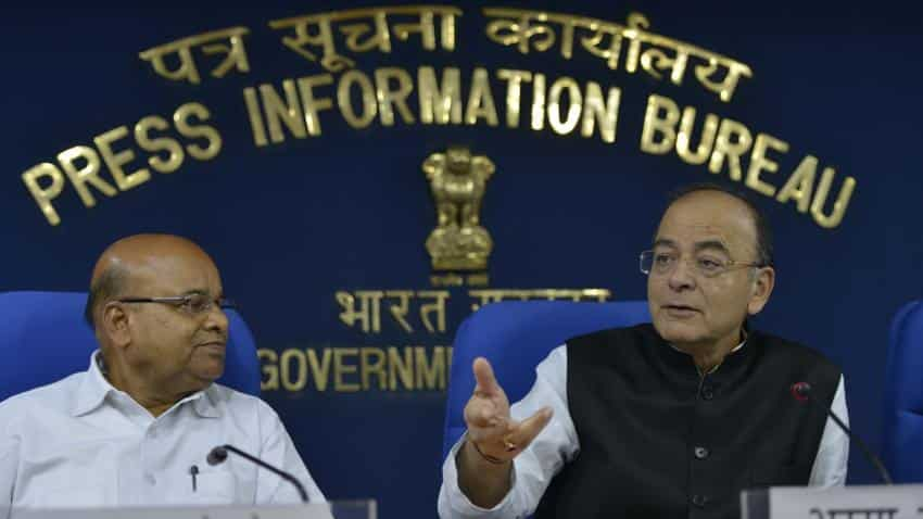 Five things Arun Jaitley said on India's falling first quarter GDP
