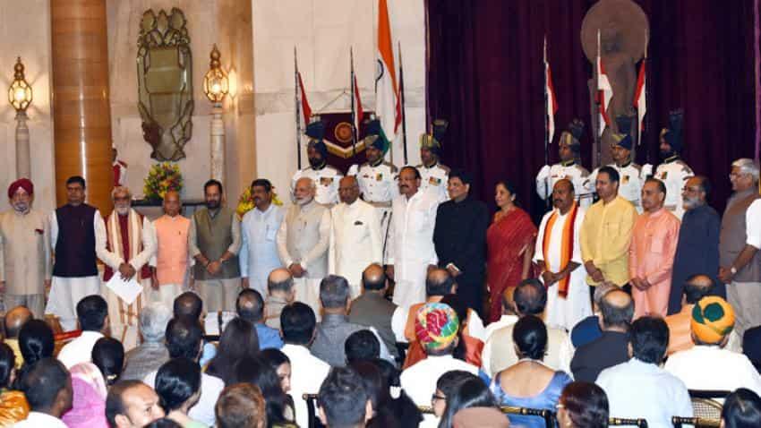 Four ministers enter PM Modi's Cabinet; Prabhu no longer Railway minister