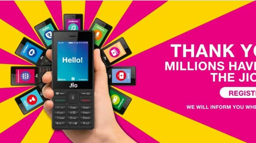 Reliance Jio to start delivery of 60 lakh pre-booked JioPhone from Navratri