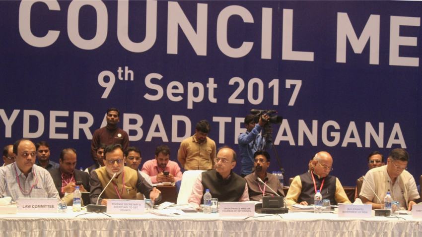 GST Council meeting in Hyderabad discusses tax reduction on Telangana govt flagship projects