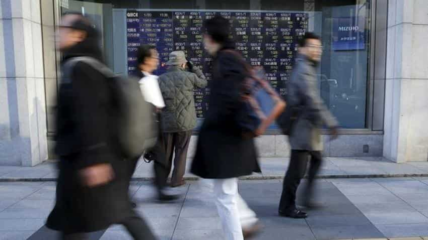 Asian markets hit 10-year high on relief from Hurricane Irma, North Korea