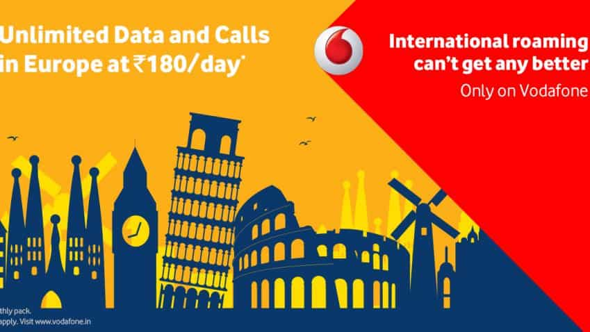 Vodafone launches unlimited, international roaming with new i-RoamFree pack for Rs 5000