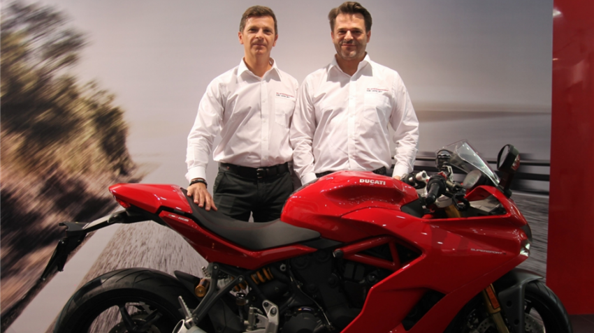 Ducati launches SuperSport in India priced at Rs 12.08 lakh