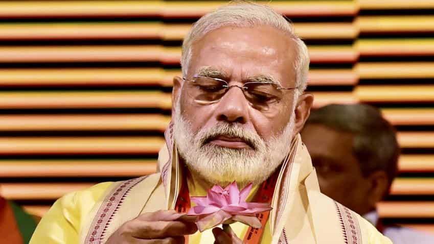 Three years into his term, PM Modi resurrects economic advisory panel to kick start growth; launches Saubhagya