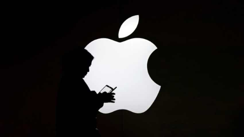 Apple shares flirt with correction territory