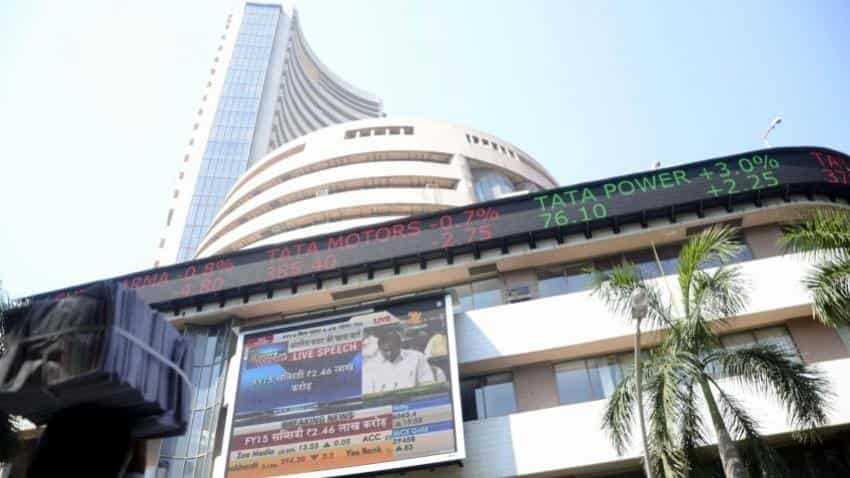 Sensex, Nifty trades in green; ONGC plunges by 2%