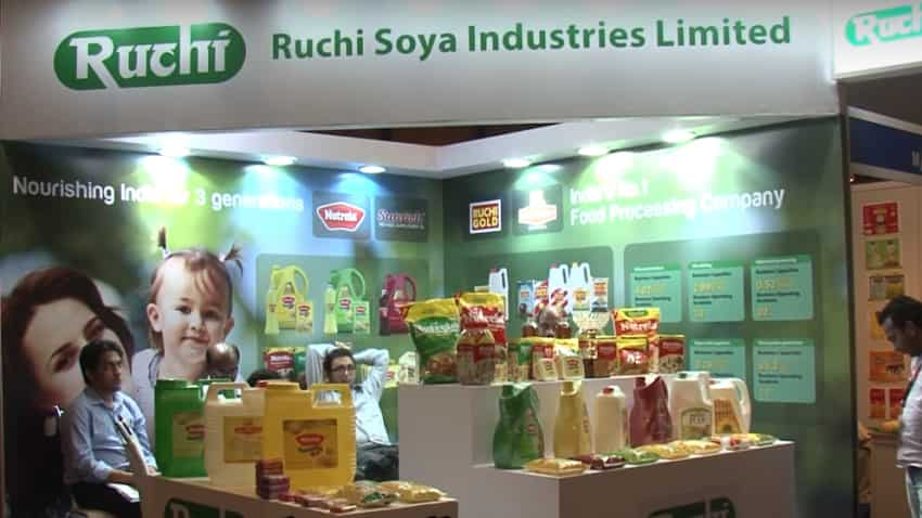 Ruchi Soya jumps 14% on signing pact with Patanjali; eyes Rs 20,000 crore sales by 2020