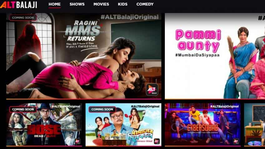ALTBalaji ranks among top three revenue earning video streaming apps