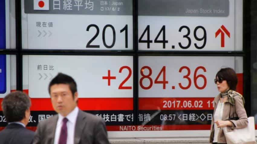 Asian markets edge up slightly after strong US service data