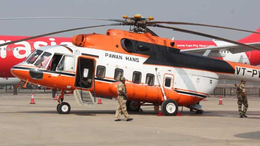 Govt invites private players to buy out 51% in helicopter service firm Pawan Hans