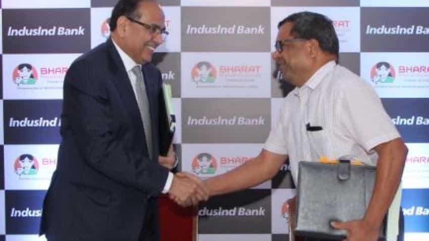 Induslnd bank clears deal for merger with Bharat Financial Inclusion