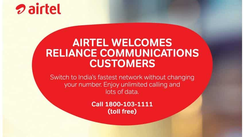 Telecom wars intensifies; Airtel targets Reliance Communications' 2G customers with ad