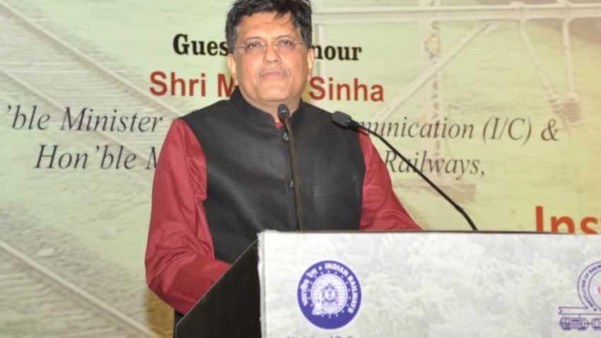 Railways to invest $150 billion, create 1 million jobs in 5 years: Piyush Goyal