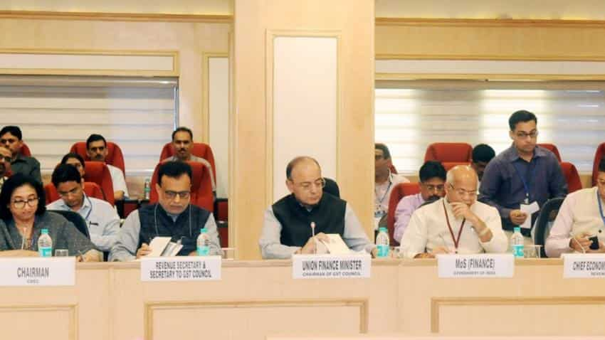 GST Council meet gets underway in Guwahati, Congress protests