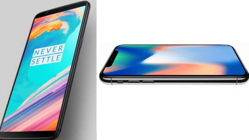How the OnePlus 5T stacks up against Apple's iPhone X