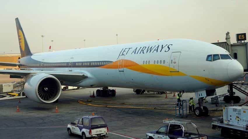 Jet Airways shares tank 8% on profit-booking