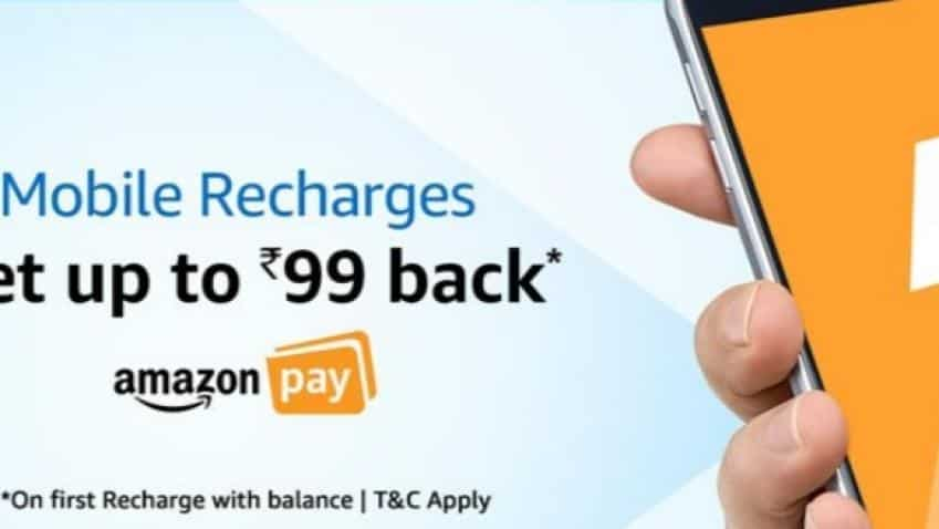 Airtel, Reliance Jio, Aircel partner with Amazon to offer cashback on mobile recharges