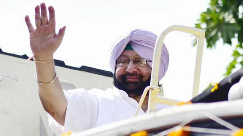 Punjab CM  Amarinder Singh unveils startup development policy