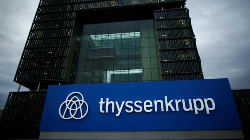 ThyssenKrupp kicks off talks with union on steel merger