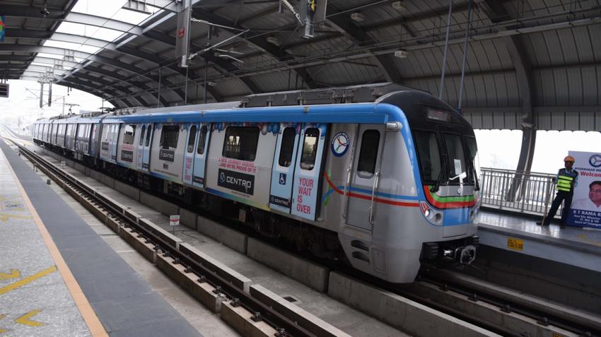 Hyderabad metro fares fixed between Rs 10-60