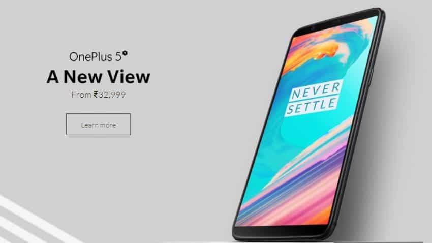 OnePlus 5T to on sale from today on Amazon, OnePlus websites