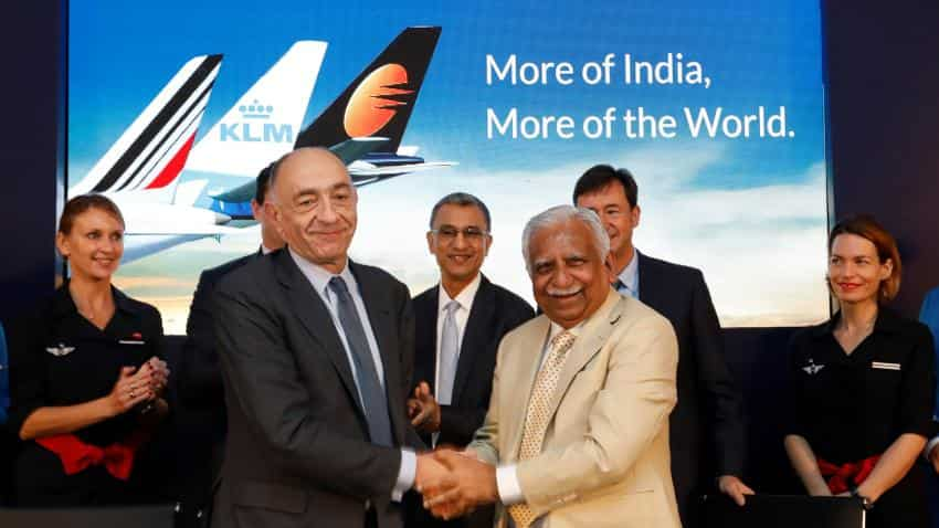 Jet Airways gains 2% after tie up with Air France-KLM