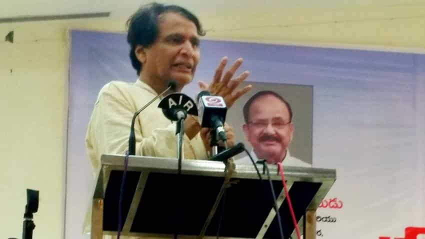 Growth policies being drawn up for each sector: Suresh Prabhu